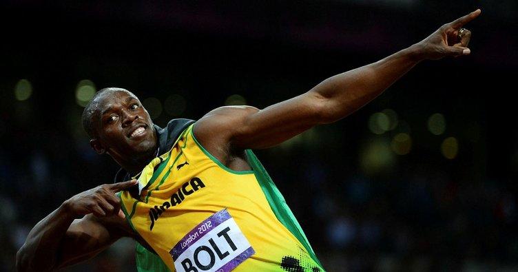 Başrolde Usain Bolt