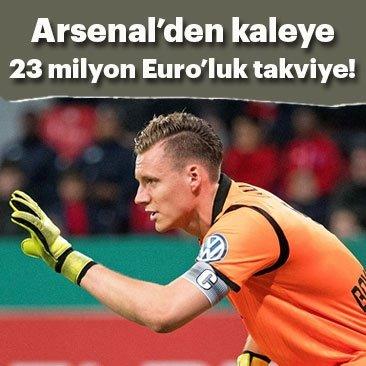 Arsenal, Bernard Leno'yu transfer etti
