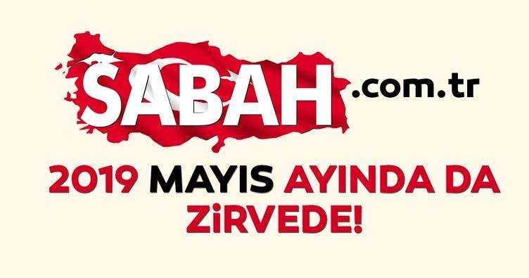 Türkiye'nin en çok ziyaret edilen haber sitesi Mayıs ayında da Sabah.com.tr oldu!