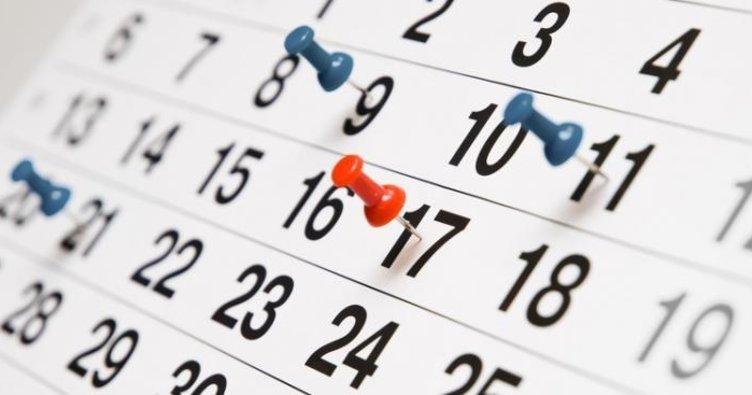 2018 yılı resmi tatilleri! Milyonlarca çalışan için bu yıl yapılacak resmi tatil günleri belirlendi!