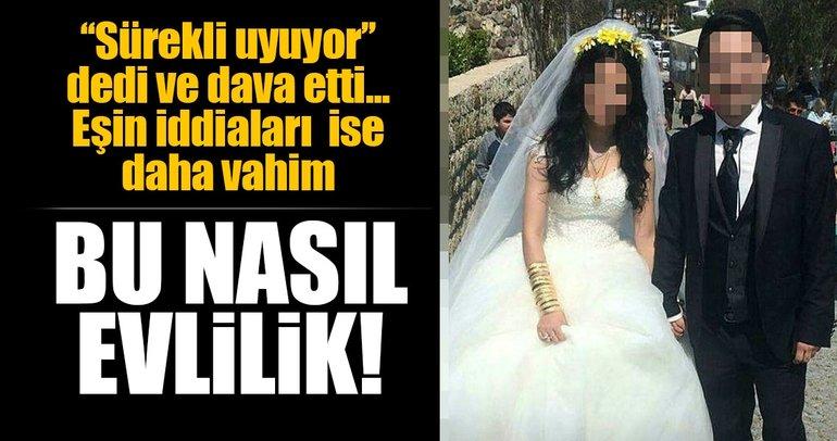 Son dakika: İzmir'de dayak atmakla suçlanan kadından kocasına karşı dava! ''Sürekli uyuyordu, ilgilenmiyordu...''