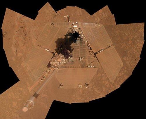 Uzayda çekilen 'selfie'ler