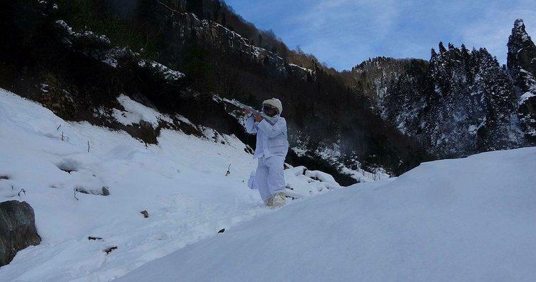 Karadeniz'de PKK'lı teröristlere bir darbede günlüklerinden