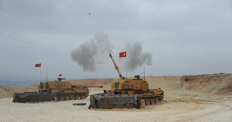 Barış Pınarı Harekatı'nda etkin ateş gücü