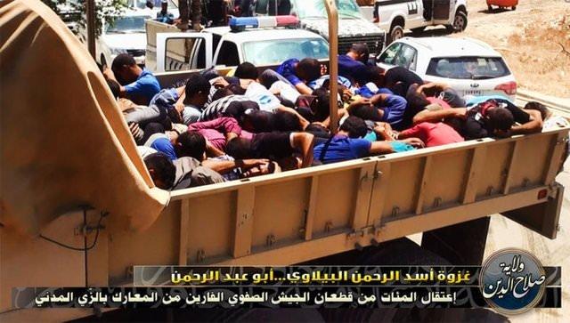 IŞİD'den katliam!