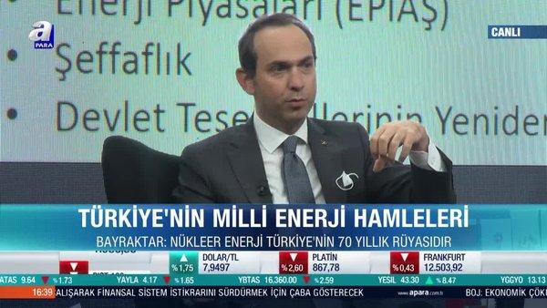 Enerji ve Tabii Kaynaklar Bakan Yardımcısı Alparslan Bayraktar 3. Türkiye 2023 Zirvesi'nde açıklamalarda bulundu   Video