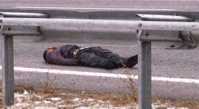 Başkent'te otobanda ceset bulundu