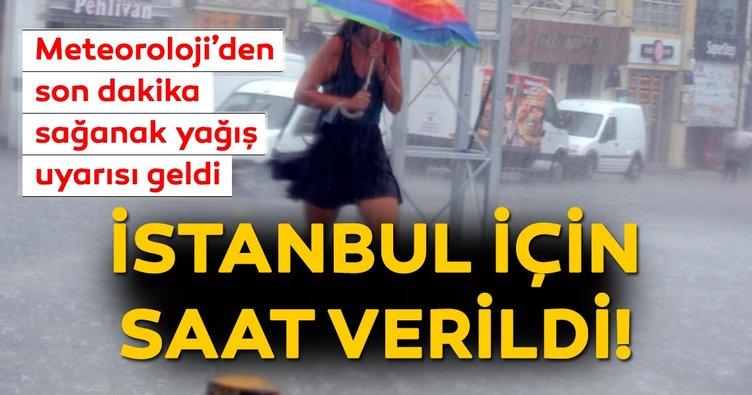 Meteoroloji'den İstanbul için son dakika sağanak yağış uyarısı geldi! Bugün hava durumu nasıl olacak? 14 Haziran
