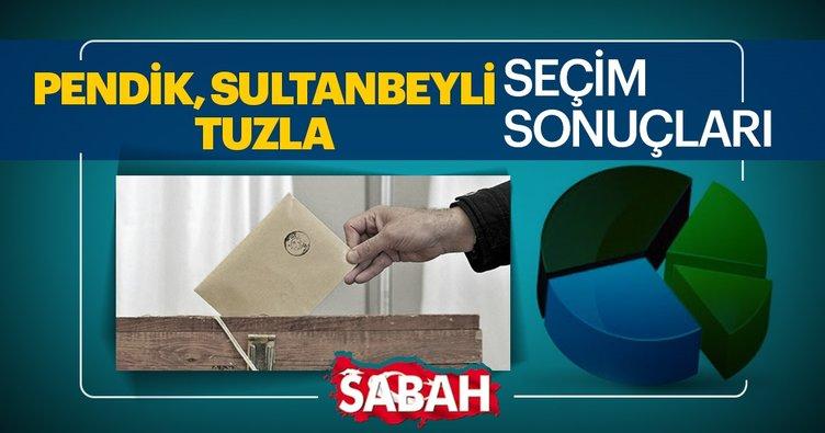 Pendik, Sultanbeyli ve Tuzla seçim sonuçları canlı olarak takip et! 31 Mart 2019 Pendik, Sultanbeyli ve Tuzla seçim sonucu