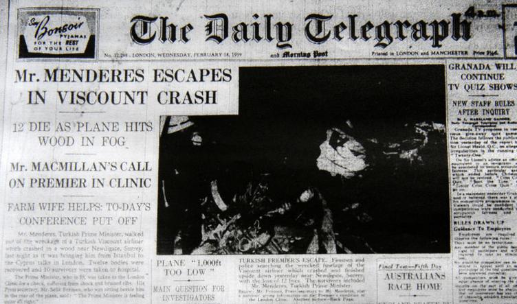 Adnan Menderes'ın uçak kazasında bilinmeyen ayrıntılar!