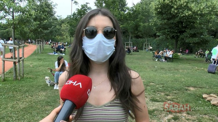 Caddebostan sahilinde Pazar günü yoğunluğu: Çoğunluk maske takmıyor!