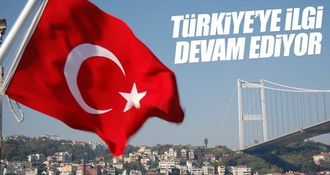 Şimşek: Türkiye'ye güçlü ilgi devam ediyor