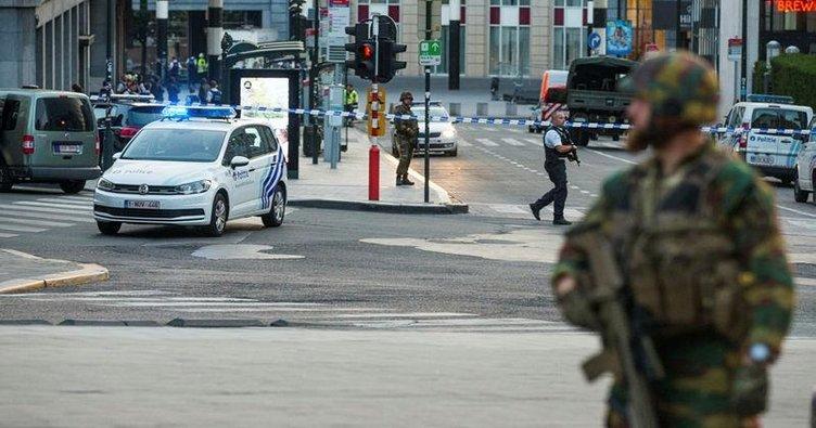 Brüksel'de canlı bomba etkisiz hale getirildi