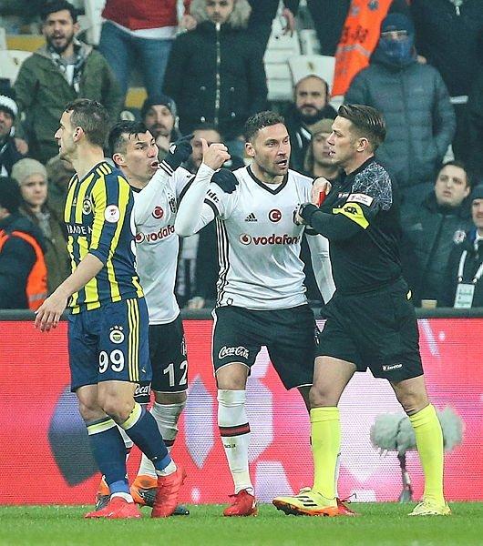 Beşiktaş - Fenerbahçe (Ziraat Türkiye Kupası) derbisinden kareler