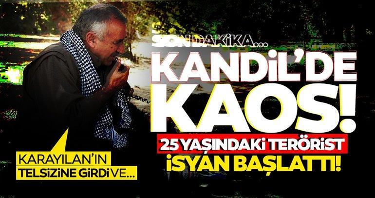 Son dakika haber: PKK'lı teröristler arasında kaos çıktı! Terör örgütünde Murat Karayılan'a isyan başladı...