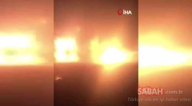 Yine Çin yine felaket! Kimyasal tesis havaya uçtu