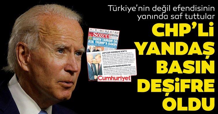 Türkiye'nin değil efendisinin yanında saf tuttular! CHP'li yandaş medya deşifre oldu