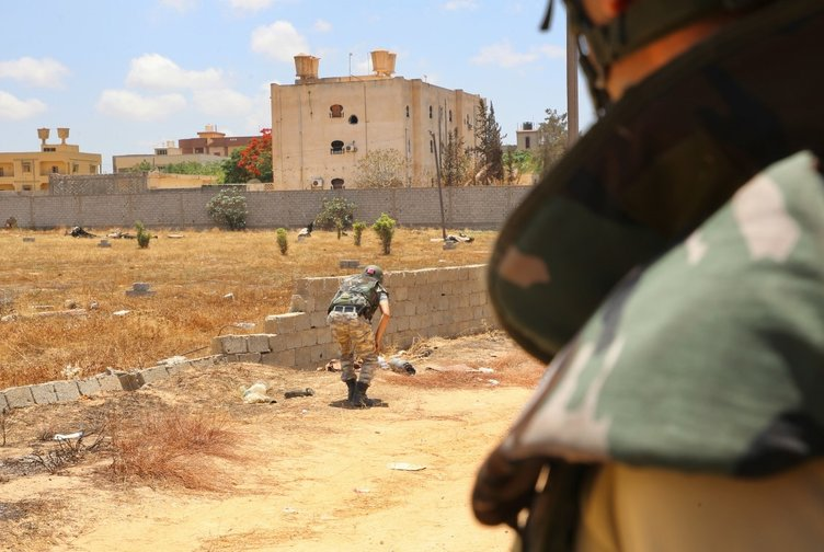 Libya'da darbeci Hafter'in yol açtığı yıkım böyle görüntüledi!