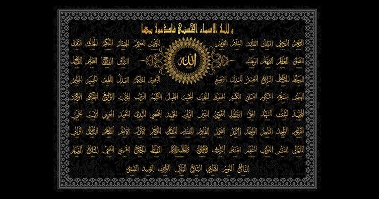 Allahn 99 Ismi Esmal Hsna Ve Trke Anlamlar