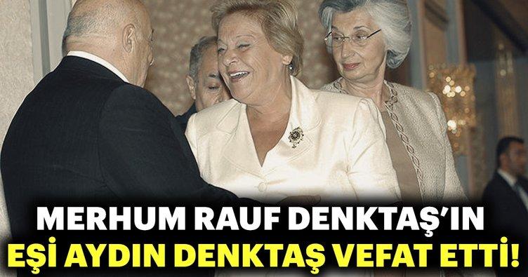 Son dakika: Merhum Rauf Denktaş'ın eşi vefat etti!