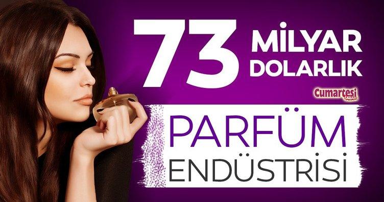 73 milyar dolarlık parfüm endüstrisi