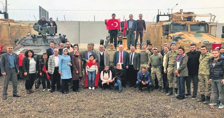 Ereğli'den Afrin çıkarması