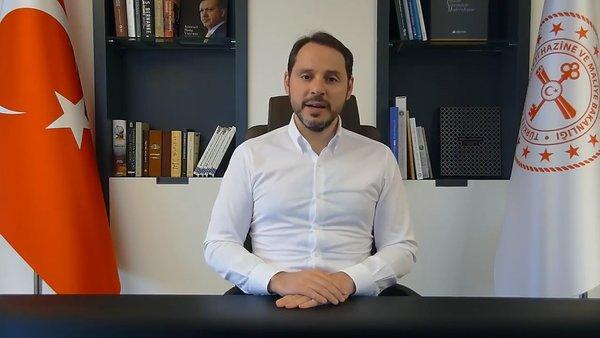 Son dakika: Hazine ve Maliye Bakanı Berat Albayrak'tan 'Ekonomik İstikrar Kalkanı' açıklaması   Video