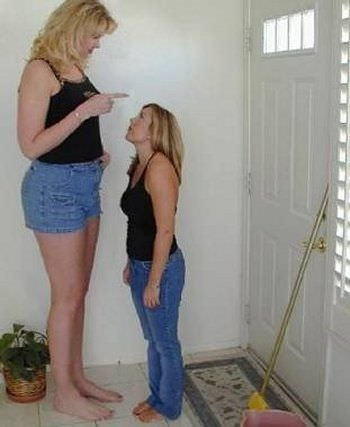 Dünyanın en uzun kadınları