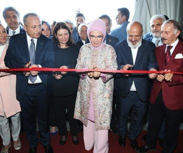 Emine Erdoğan Siirt günleri etkinliği'ne katıldı