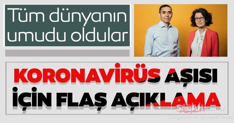 Dünyanın umudu oldular! Türk doktorlardan  Koronavirüs aşısı için flaş açıklama  