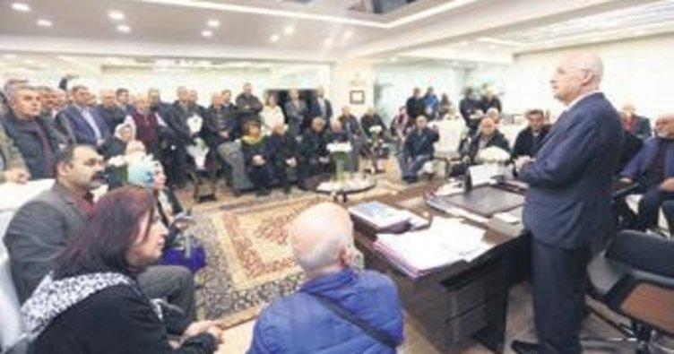 Başkan Fethi Yaşar'a tebrik ziyareti