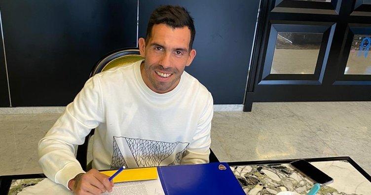 Carlos Tevez Boca Juniors ile uzattı
