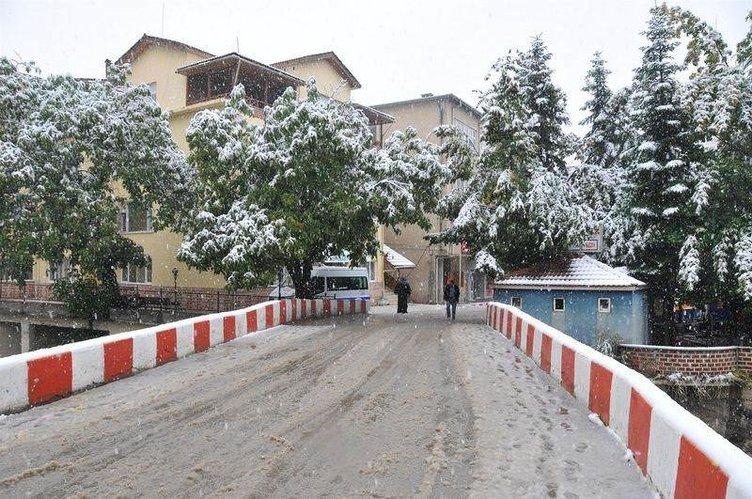 Türkiye'den kar manzaraları - 09
