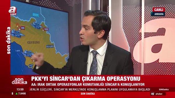 Son dakika! PKK'yı Sincar'dan çıkarma operasyonu! Irak ordusu o bölgeye konuşlandı | Video