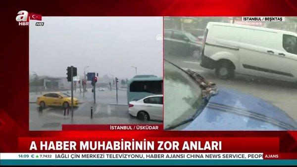 Meteoroloji uyarmıştı! İstanbul'da