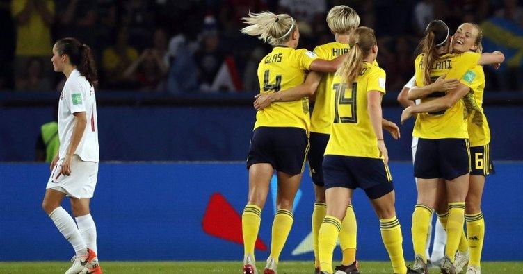 FIFA Kadınlar Dünya Kupası'nda İsviçre çeyrek finalde