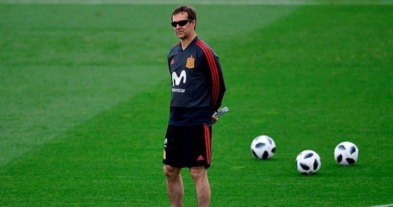 İspanya milli takım teknik direktörü Julen Lopetegui kovuldu!