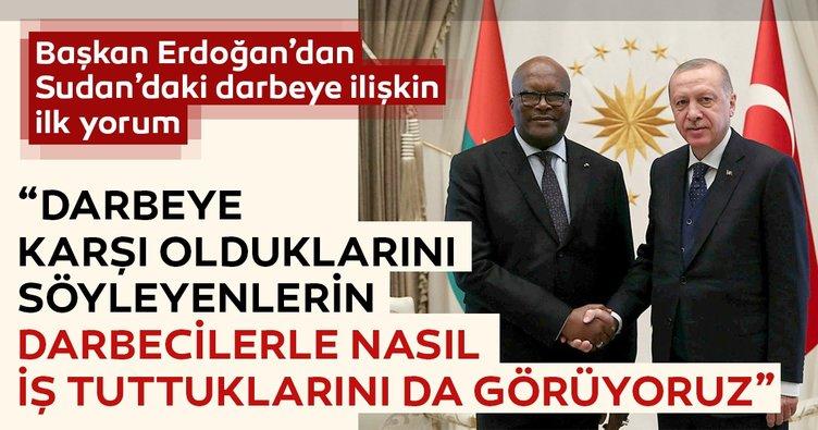 Başkan Erdoğan'dan Sudan'daki gelişmeler ile ilgili açıklama!