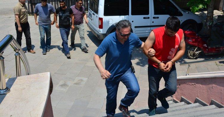 Kablo çalan kardeşler tutuklandı