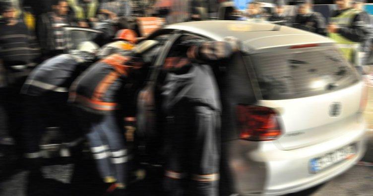 Uşak'ta trafik kazası: 1 ölü, 2 yaralı