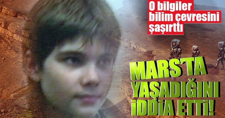 Rus çocuk Mars'ta yaşadığını iddia etti! Bilim adamları...