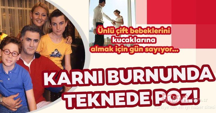 Çocuklar Duymasın'ın Duygu'su Ayşecan Tatari'den karnı burnunda teknede poz! Sosyal medyanın gündemine oturdu!