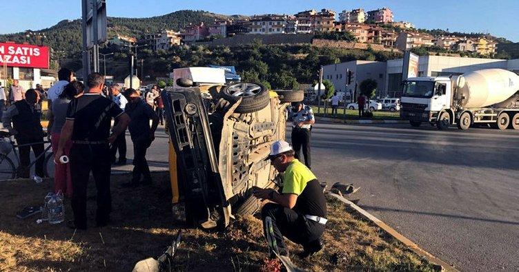 Tokat'ta trafik kazası: 8 yaralı!