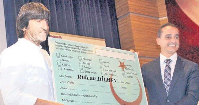 Dilmen'le organ bağışında rekor