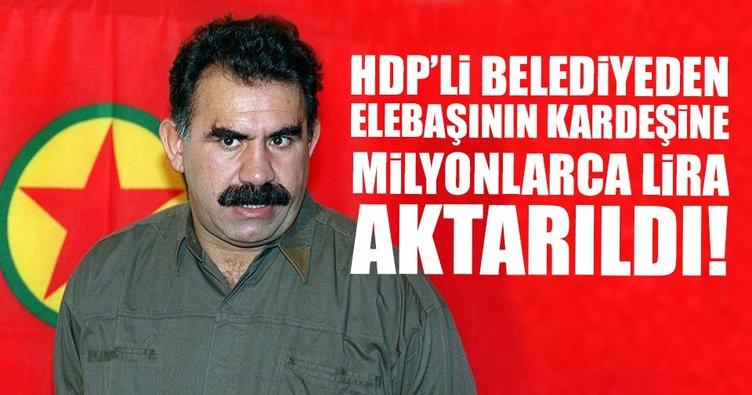 Belediyeden terör örgütü elebaşı Öcalan'ın kardeşine 7 milyon lira aktarıldı