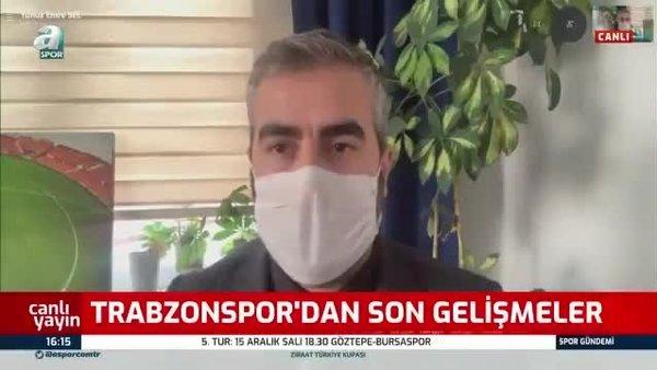 Yunus Emre Sel: Trabzonspor'da gelecek gidecek oyunculara Kayserispor maçının ardından karar verilecek