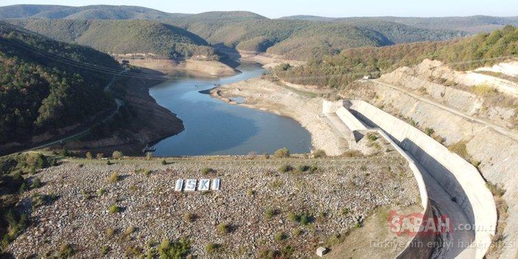İstanbul'un su ihtiyacının büyük bölümünü karşılıyordu! Kazandere ve Pabuçdere barajları kurudu