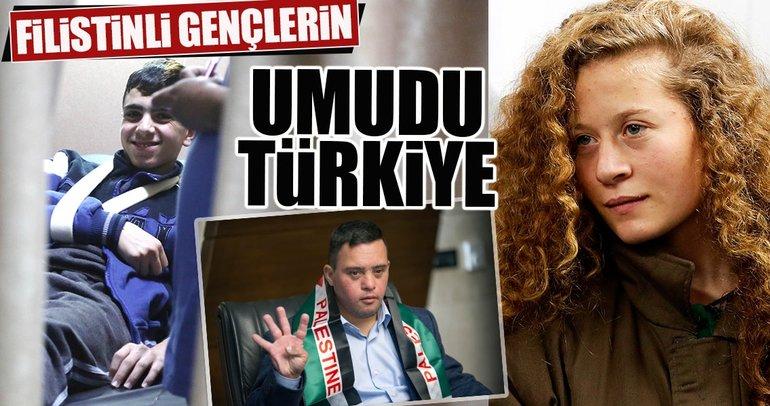Filistinli gençlerin umudu Türkiye