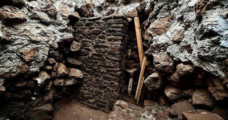 Deprem tapınağı ortaya çıkardı