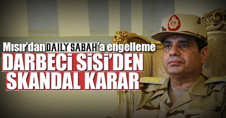 Mısır'dan skandal Daily Sabah kararı